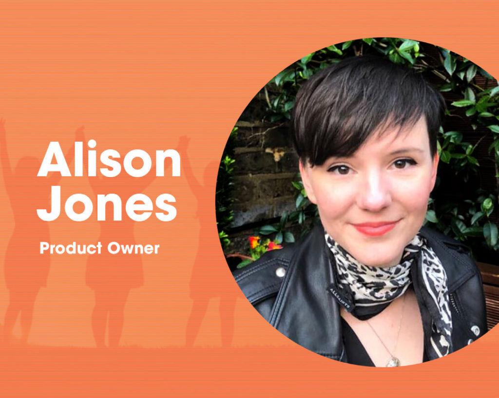 Alison Jones Product Owner